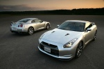 2010 Nissan GT-R Coupe in Super Silver 3-Coat Metallic - Static