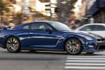 2012 Nissan GT-R Coupe in Deep Blue Pearl - Driving Right Side View