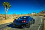 2014 Nissan GT-R Track Edition in Jet Black Pearl - Driving Rear Right View