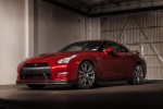 2015 Nissan GT-R in Regal Red - Static Front Left Three-quarter View
