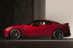 2016 Nissan GT-R in Regal Red - Static Side View