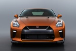 2017 Nissan GT-R Coupe Premium in Blaze Metallic - Static Frontal View