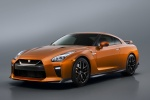 2017 Nissan GT-R Coupe Premium in Blaze Metallic - Static Front Left Three-quarter View
