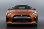 2018 Nissan GT-R Coupe Premium in Blaze Metallic - Static Frontal View