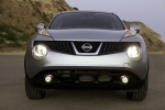 2011 Nissan Juke in Chrome Silver - Static Frontal View