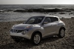 2011 Nissan Juke in Chrome Silver - Static Front Left Three-quarter View