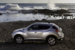 2011 Nissan Juke in Chrome Silver - Static Side View