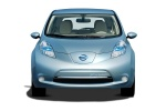 2011 Nissan Leaf in Blue Ocean - Static Frontal View