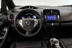 2013 Nissan Leaf Cockpit in Black