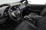 2013 Nissan Leaf Interior in Black