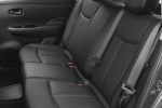 2013 Nissan Leaf Rear Seats in Black