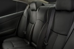 2011 Nissan Maxima Rear Seats in Charcoal