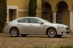 2011 Nissan Maxima in Radiant Silver - Static Right Side View