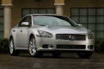 2011 Nissan Maxima in Radiant Silver - Static Front Right View