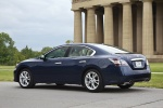 2013 Nissan Maxima in Navy Blue Metallic - Static Rear Left Three-quarter View