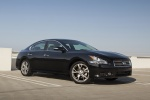 2014 Nissan Maxima in Crimson Black Metallic - Static Front Right Three-quarter View