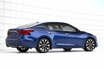 2016 Nissan Maxima SR Sedan in Deep Blue Pearl - Static Rear Right View