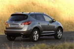 2010 Nissan Murano LE AWD in Saharan Stone - Driving Rear Right Three-quarter View