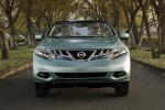 2011 Nissan Murano CrossCabriolet in Caribbean Pearl - Driving Frontal View