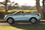 2011 Nissan Murano CrossCabriolet in Caribbean Pearl - Driving Left Side View