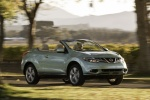 2012 Nissan Murano CrossCabriolet in Caribbean Pearl - Driving Front Right View