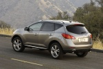 2012 Nissan Murano LE AWD in Saharan Stone - Static Rear Left Three-quarter View