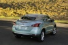 Driving 2013 Nissan Murano CrossCabriolet from a rear right view