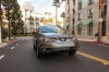 Driving 2013 Nissan Murano SL in Gun Metallic from a front right view