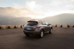 2013 Nissan Murano SL in Gun Metallic - Static Rear Right Three-quarter View