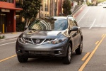 2013 Nissan Murano SL in Gun Metallic - Driving Front Left View