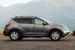 2013 Nissan Murano SL in Gun Metallic - Static Side View
