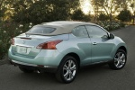 2013 Nissan Murano CrossCabriolet - Static Rear Right Three-quarter View