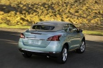 2013 Nissan Murano CrossCabriolet - Driving Rear Right View