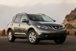 2013 Nissan Murano SL in Gun Metallic - Static Front Right Three-quarter View