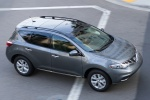 2013 Nissan Murano SL in Gun Metallic - Driving Front Right Three-quarter Top View