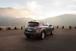 2014 Nissan Murano SL in Gun Metallic - Static Rear Right Three-quarter View