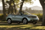 2014 Nissan Murano CrossCabriolet - Driving Front Right Three-quarter View