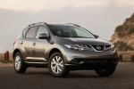 2014 Nissan Murano SL in Gun Metallic - Static Front Right Three-quarter View