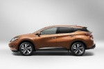 2016 Nissan Murano in Pacific Sunset Metallic - Static Side View
