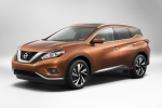 2017 Nissan Murano in Pacific Sunset Metallic - Static Front Left Three-quarter View