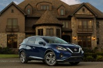 2019 Nissan Murano Platinum AWD in Deep Blue Pearl - Static Front Right Three-quarter View