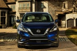 2019 Nissan Murano Platinum AWD in Deep Blue Pearl - Static Frontal View