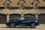 2019 Nissan Murano Platinum AWD in Deep Blue Pearl - Static Side View