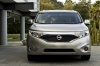 2012 Nissan Quest in Brilliant Silver from a frontal view