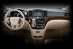 2012 Nissan Quest Cockpit in Beige