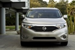 2012 Nissan Quest in Brilliant Silver - Static Frontal View