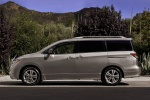 2012 Nissan Quest in Brilliant Silver - Static Side View