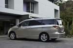 2012 Nissan Quest in Brilliant Silver - Static Rear Left Three-quarter View