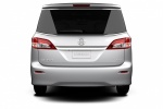 2015 Nissan Quest in Brilliant Silver - Static Rear View