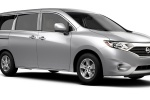 2015 Nissan Quest in Brilliant Silver - Static Front Left Three-quarter View